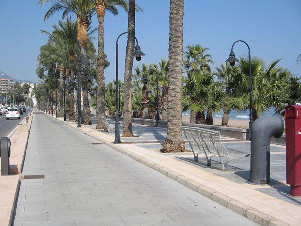 Playa del Eurosol and Heliópolis